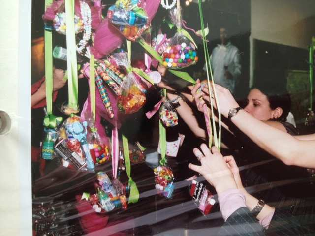 Candy Trees with Ribbons I